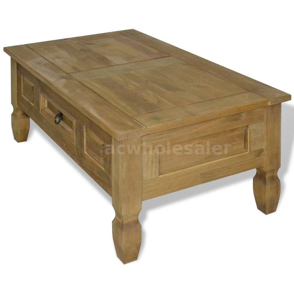 Fine Details About Coffee Table Mexican Pine Corona Range 39 4X23 6X17 7 G7Q4 Machost Co Dining Chair Design Ideas Machostcouk