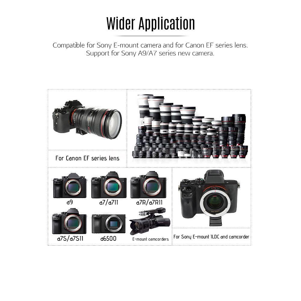 Viltrox EF-E II Auto Focus Lens Mount Adapter for Canon EF