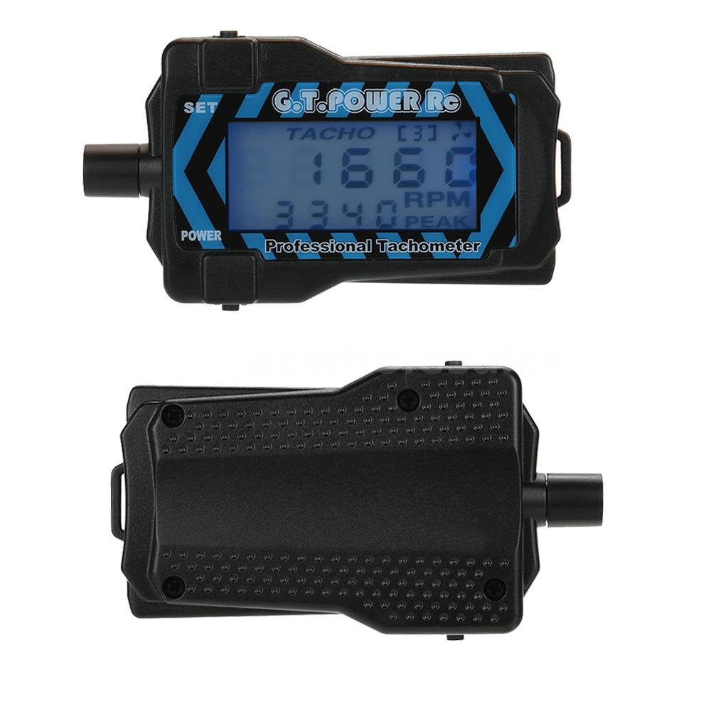 G.T.POWER RC Digital Professional Tachometer Revolution Meter for Aircraft N5T6
