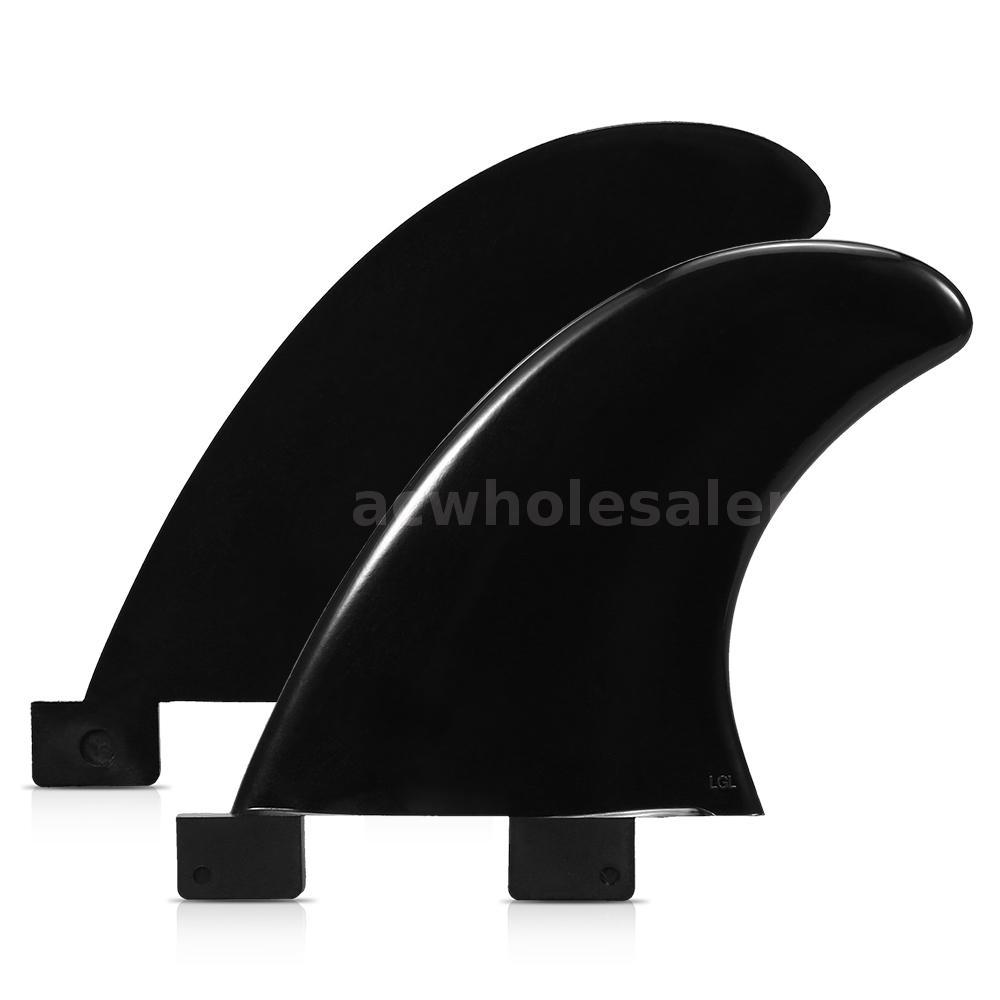 2PCS FCS Fins Surfboard Fin Thrusters Tir Fins Fiberglass Nylon Surf E4D1 3PCS